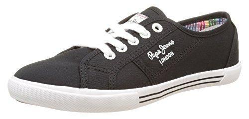 Pepe Jeans London - Zapatillas Mujer, Negro (Black), 38 (EU)