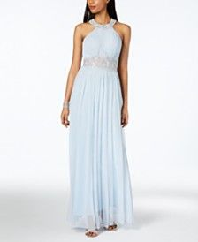 253a4210ee Blue Prom Dresses for Women - Macy s