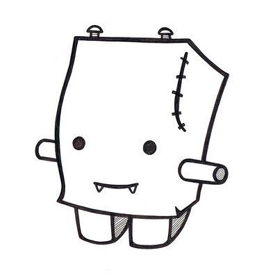Daily Doodle Doodle Art Designs Graffiti Doodles Doodle Monster