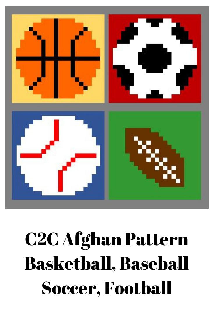 Graphgan, C2C, Crochet, Graph, Pattern, Corner to Corner, Sports