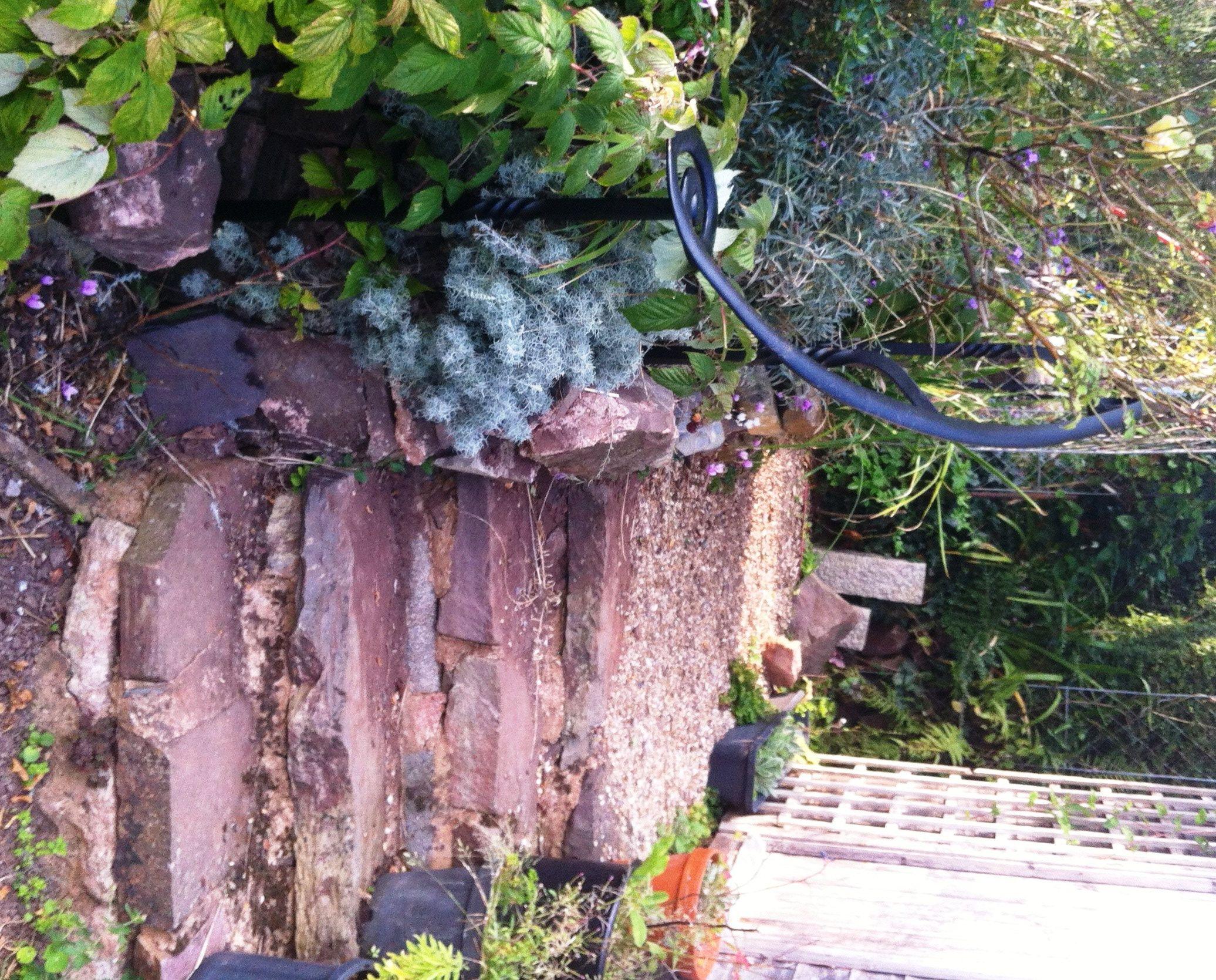 ecorative garden handrail
