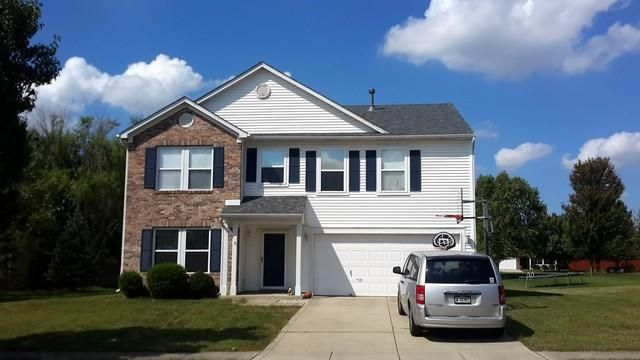 Before and After: Roof replacement in Noblesville Indiana