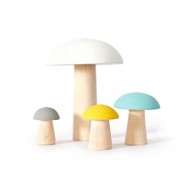 Leo Bella Product Categories Wooden Toys Mushroom