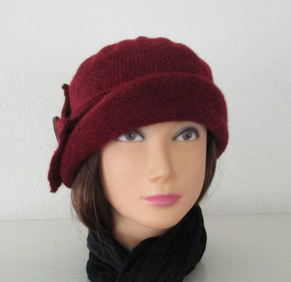 60e659206263c PDF knitting pattern Downton Abbey Cloche Hat instant download for original  design womens cloche hat in vintage 1920s style as seen in Downton Abbey -  easy ...