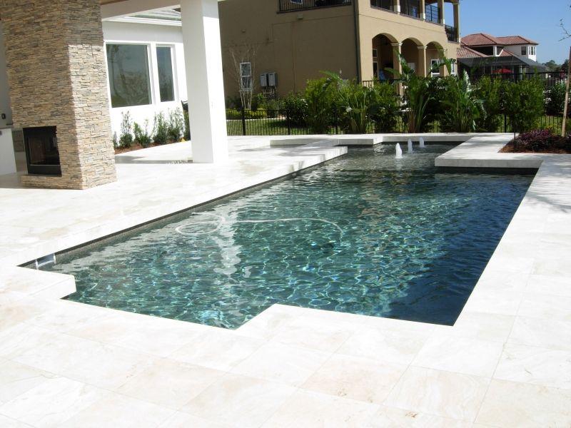 Lovely Contemporary Pool Design Orlando Geometric Pool Lake Nona