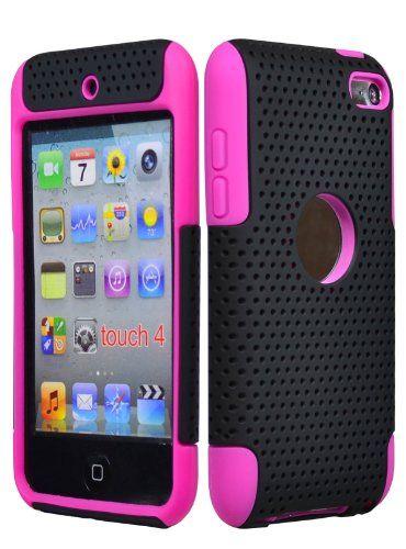 cool I Touch Cases for Girls | Bastex Hybrid Mesh Case for ... Ipod Touch 4th Generation Cases For Girls