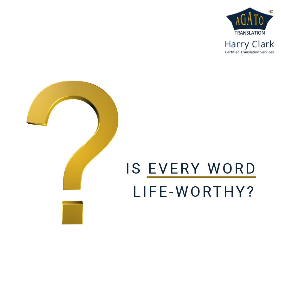 Is Every Word Life Worthy Trusting Not Only Information But The