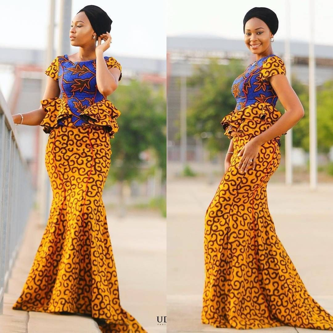 ANKARA SHORT DRESSES STYLE