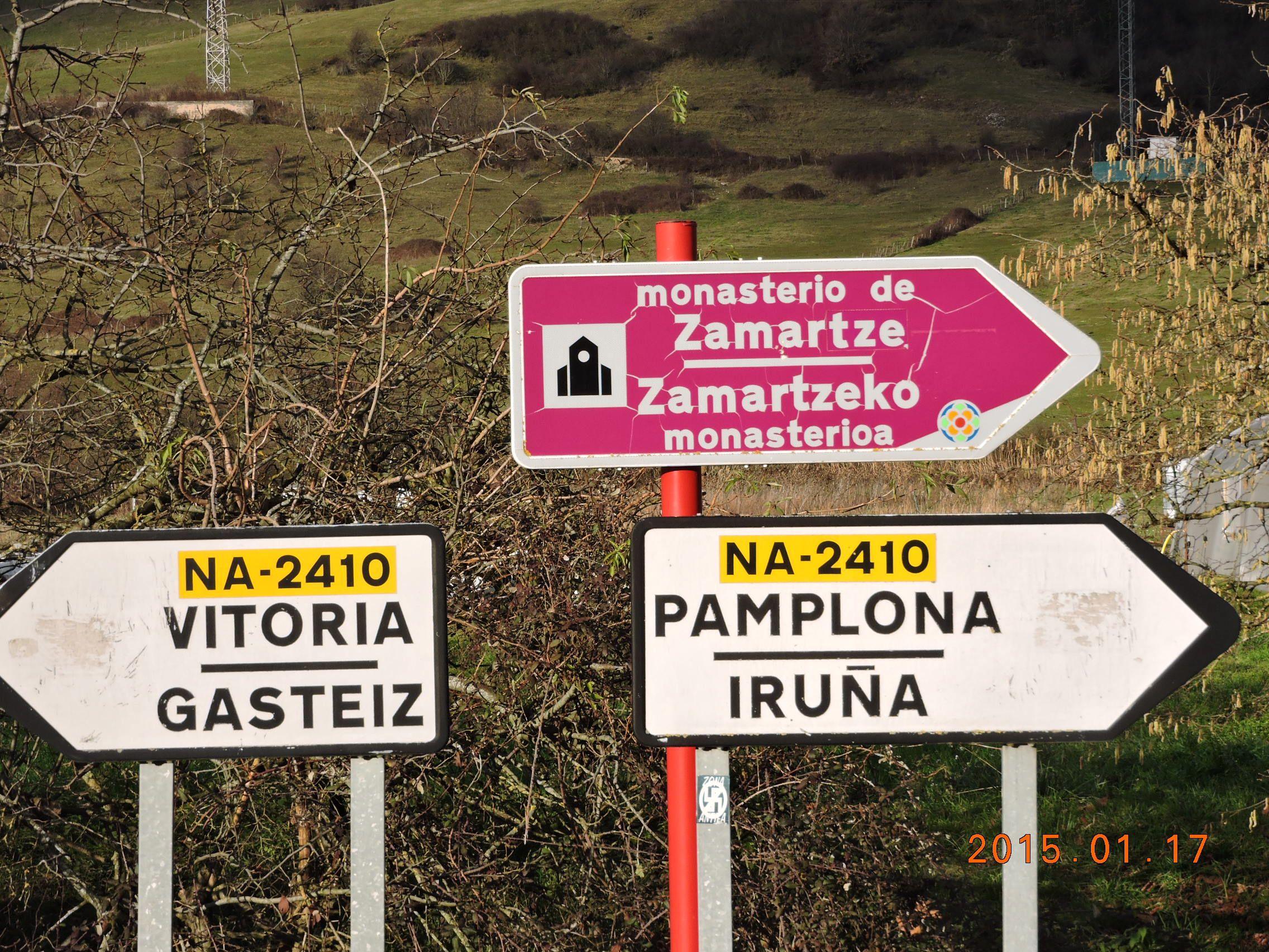 Desde el monasterio de Zamartze al Santuario de Aralar, por el Camino de San Miguel.