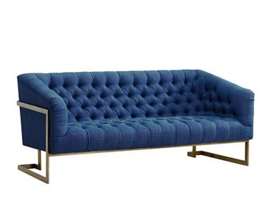 Shop For Lee Industries Apartment Sofa 1758 11 And Other Living Room Sofas At Mcelherans Fine Furniture In Edmonton Ab Shown In Fabric Farr Sofa Apart