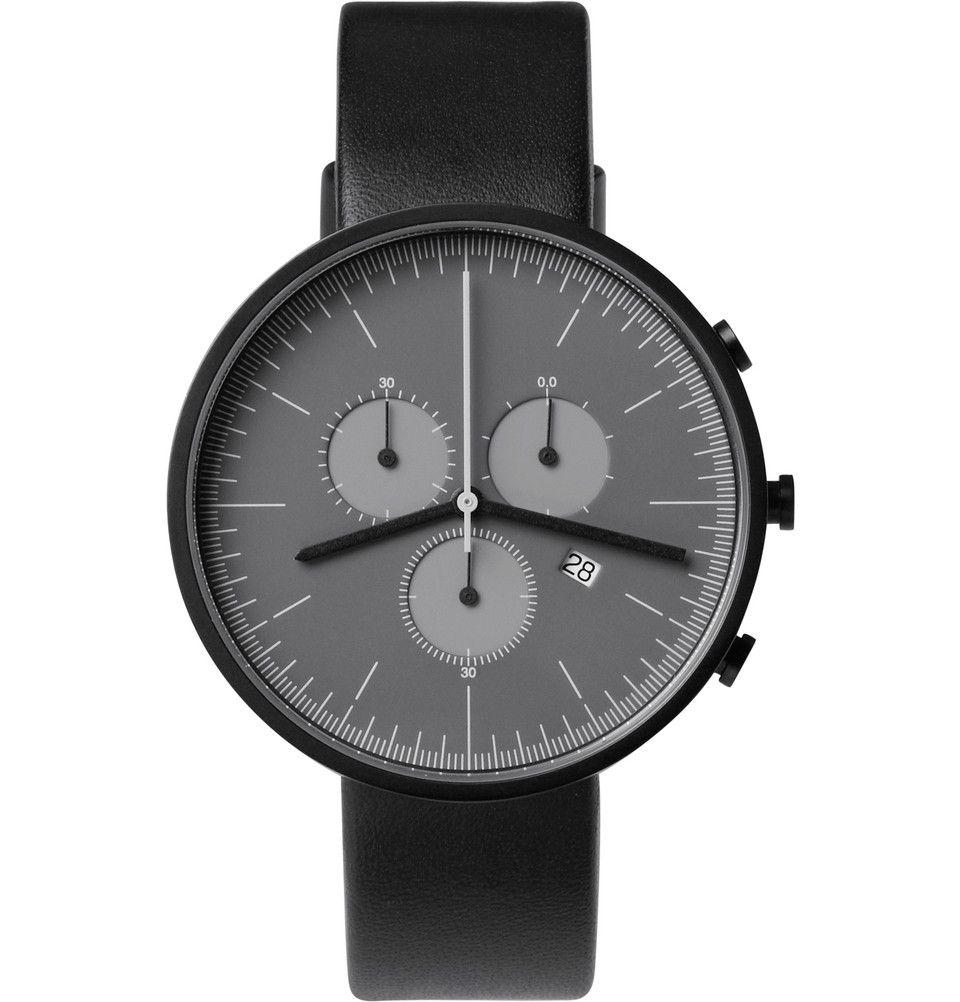 3f40e0f8e8cd Uniform Wares 300 Series Chronograph Wristwatch