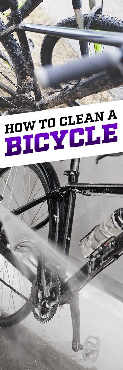 How To Deep Clean A Bicycle Bicycle Cleaning Bicycle Maintenance