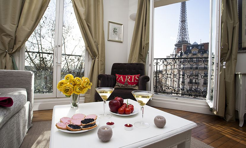 1 Bedroom Paris Hotel Alternative Near The Eiffel Tower Perfect