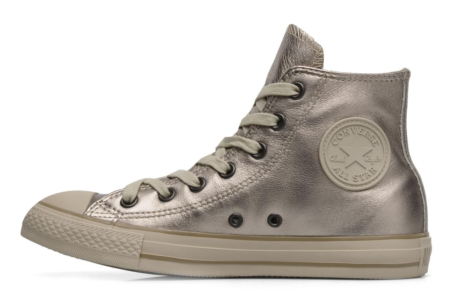 9e8dd837 Chuck Taylor All Star Metal Leather Hi W Converse | addicted to ...