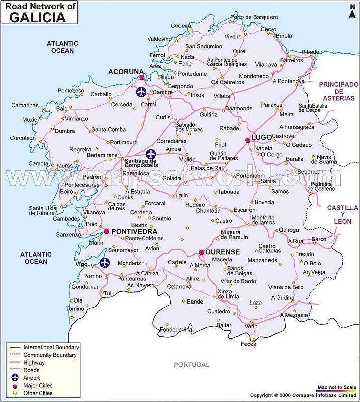 Mapas Das Regioes E Comunidades Autonomas De Espanha Espanha