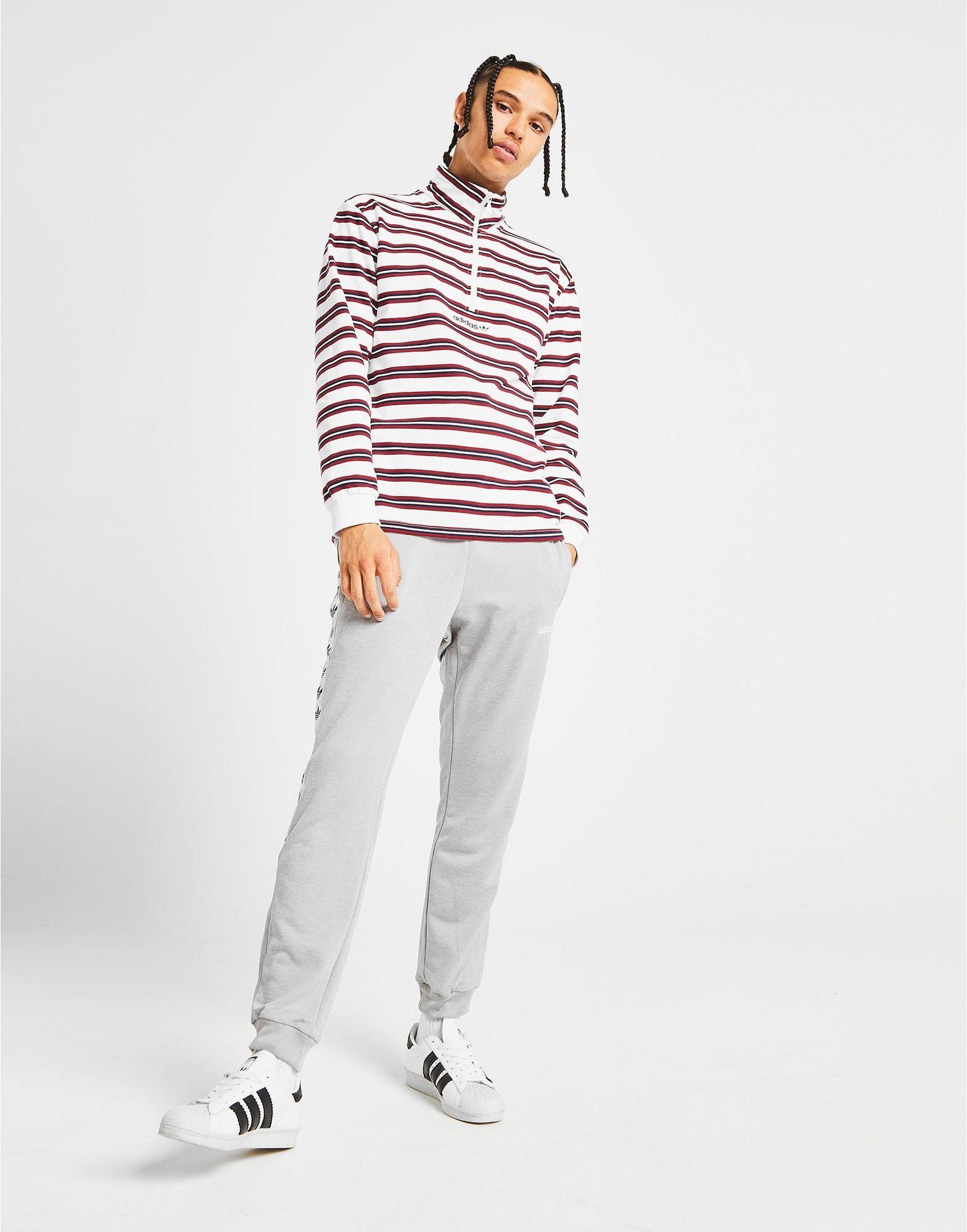 adidas Originals St. Peter 1/2 Zip Sweatshirt White