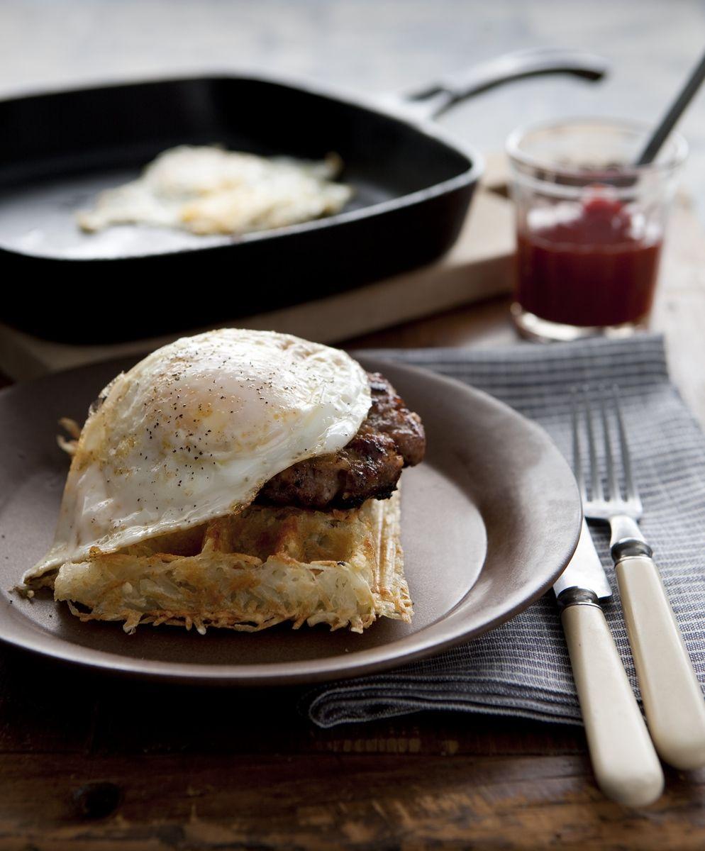 Mmmm... Looks good; like chicken and waffles but not gross... | Ginger Lemon Girl: A Gluten Free Holiday - Breakfast with Silvana Nardone