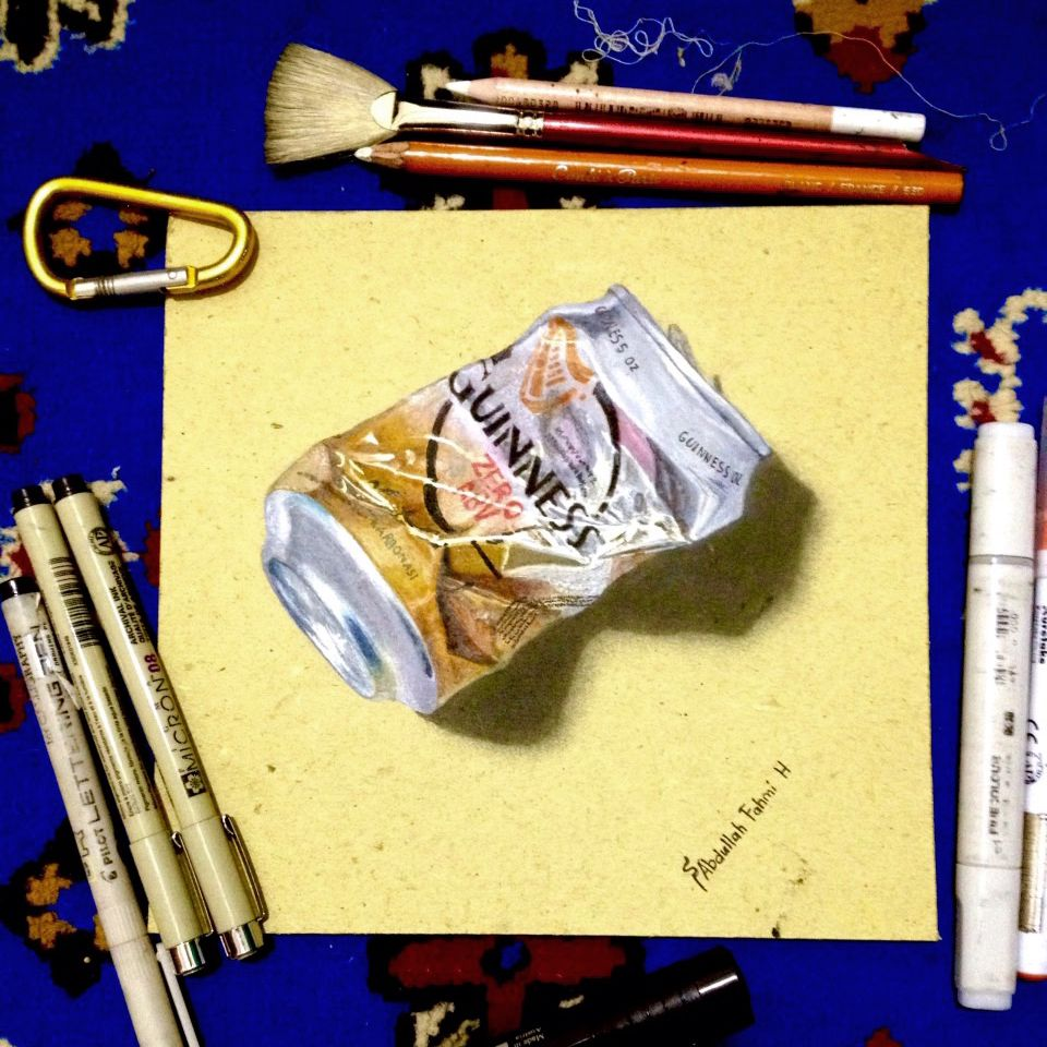 drawing this can guinness took me 5h | My Artwork | Pinterest | Guinness
