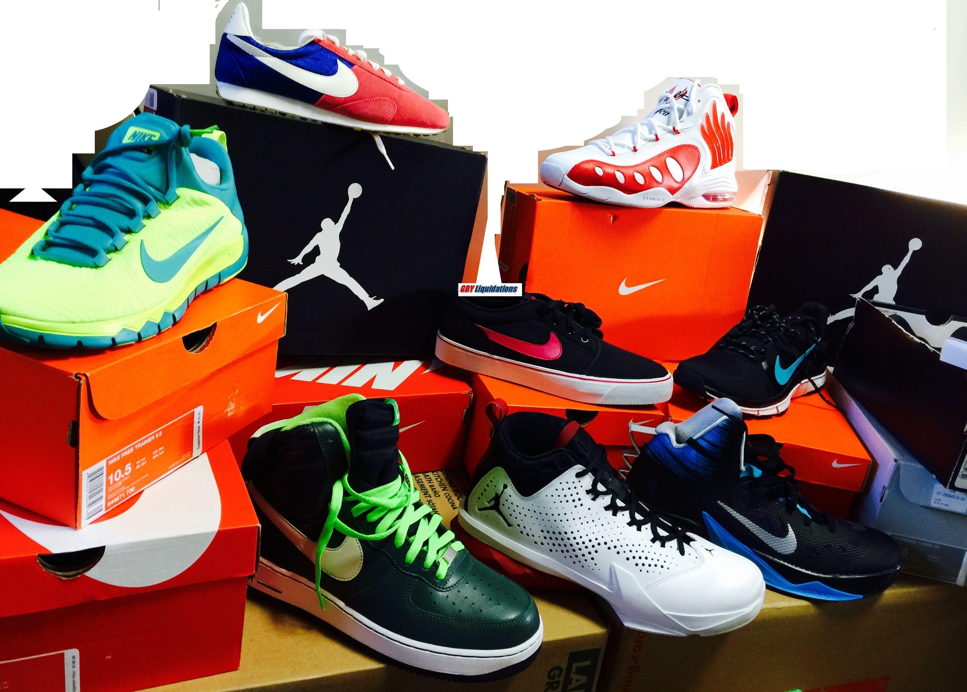 Wholesale Nike Shoe Packages , Liquidation closeout ...