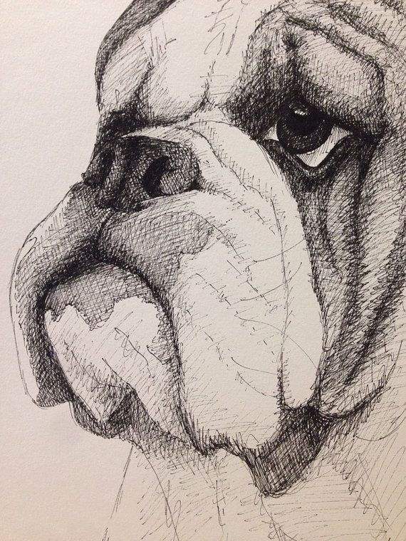 English Bulldog By Nickinoos On Etsy H A I L S T A T E