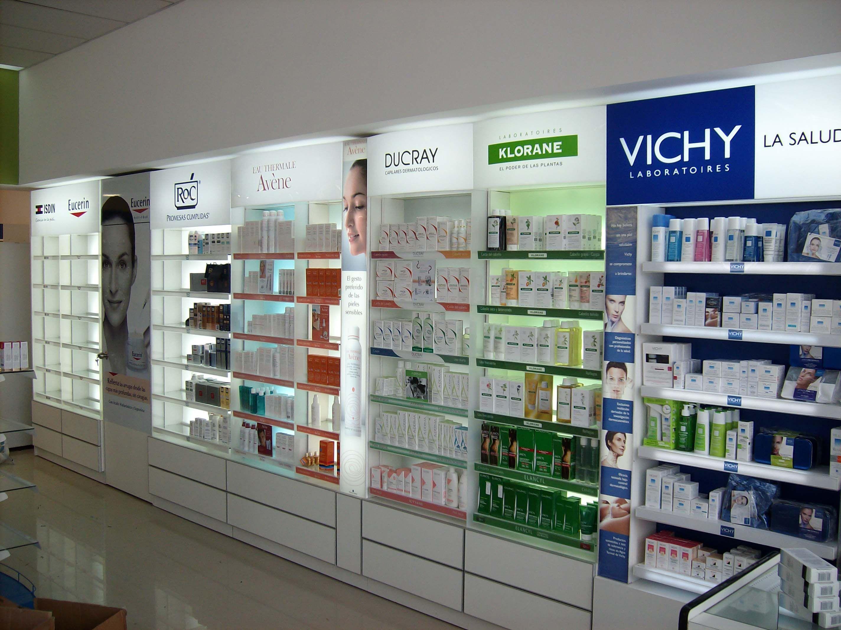 Sector Dermocosm Tica Farmacia Pinterest Pharmacy Display  # Muebles Farmacia