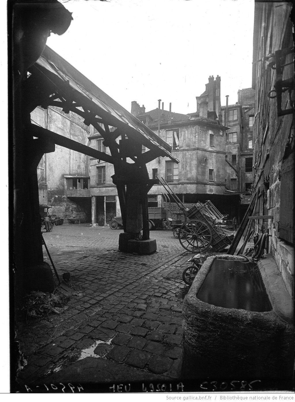 Le vieux paris qui va dispara tre l 39 auberge du compas d for Auberge du pin rouge
