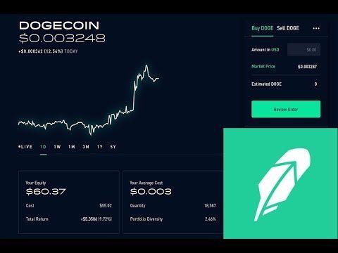 Robinhood is adding cryptocurrency trading