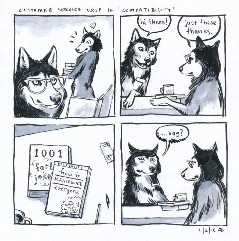 Customer Service Wolf Comics ( 31+ Pictures) Wolf comics