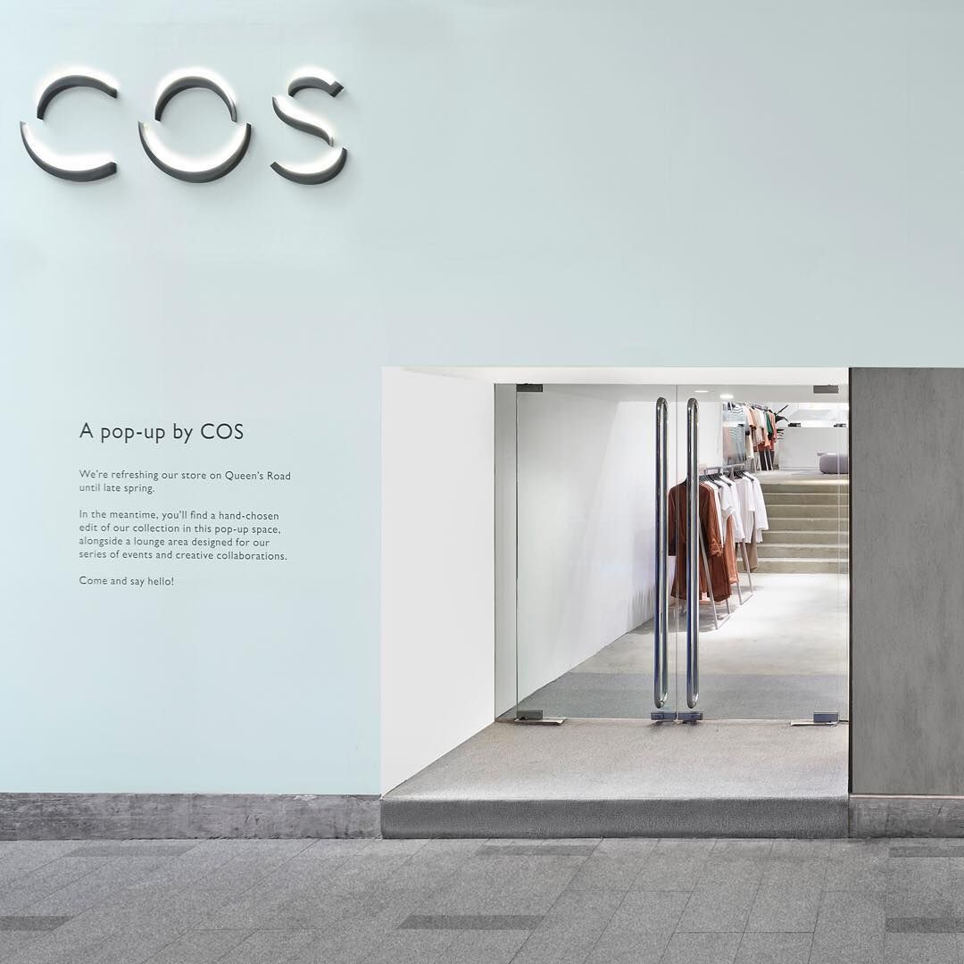 cos on instagram our pop up store in hong kong is now. Black Bedroom Furniture Sets. Home Design Ideas