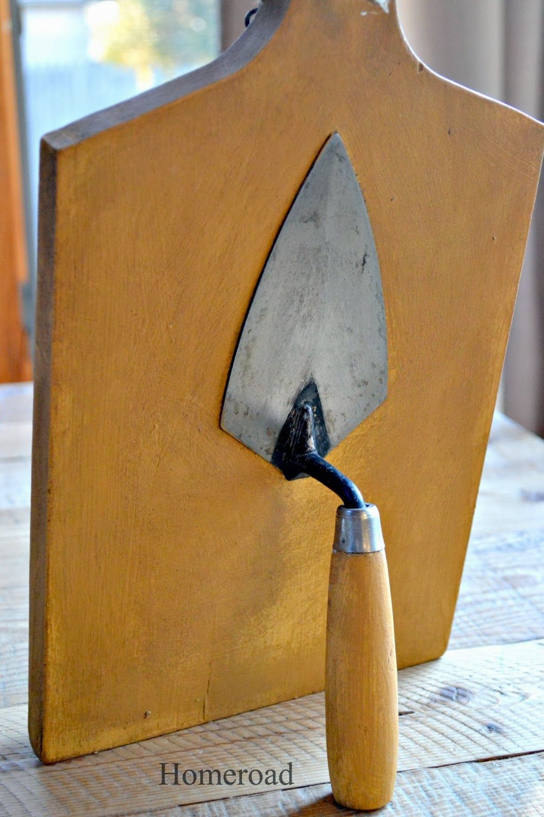 Ipad Stand With Vintage Trowel Stand Little Projects Pinterest