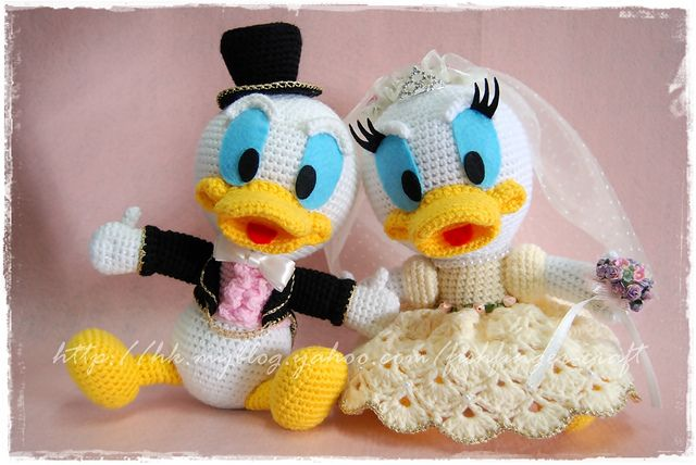 Amigurumi Duck Free Crochet Pattern : Donald duck 手鈎結婚公仔 amigurumi crochet and wedding