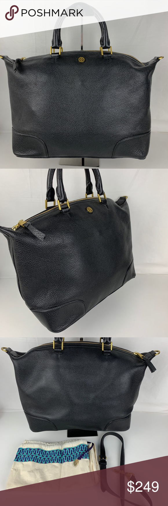 979e977062f Tory Burch Frances Leather Satchel 11159951 Authentic Tory Burch style  11159951. New