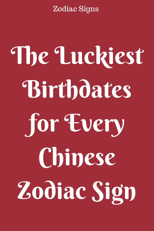 37cd8248b The Luckiest Birthdates for Every Chinese Zodiac Sign – Flaming Catalog  #ZodiacSigns #Astrology #horoscopes #zodiaco #love #DailyHoroscope #Aries  #Cancer ...
