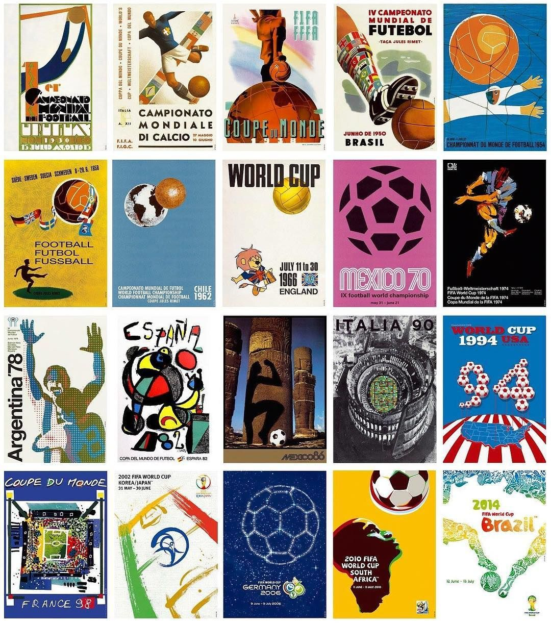 World Cup Posters Are Immense Which Is Your Favourite