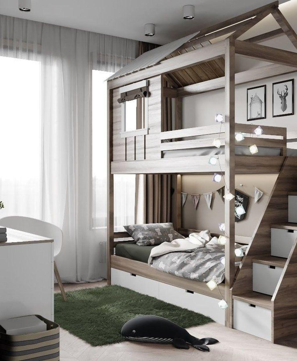 40+ Affordable Kids Bedroom Design Ideas That Suitable For Kids #kidsroom