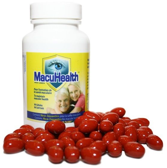 Macuhealth Supplements Macula Protection Health Eyes