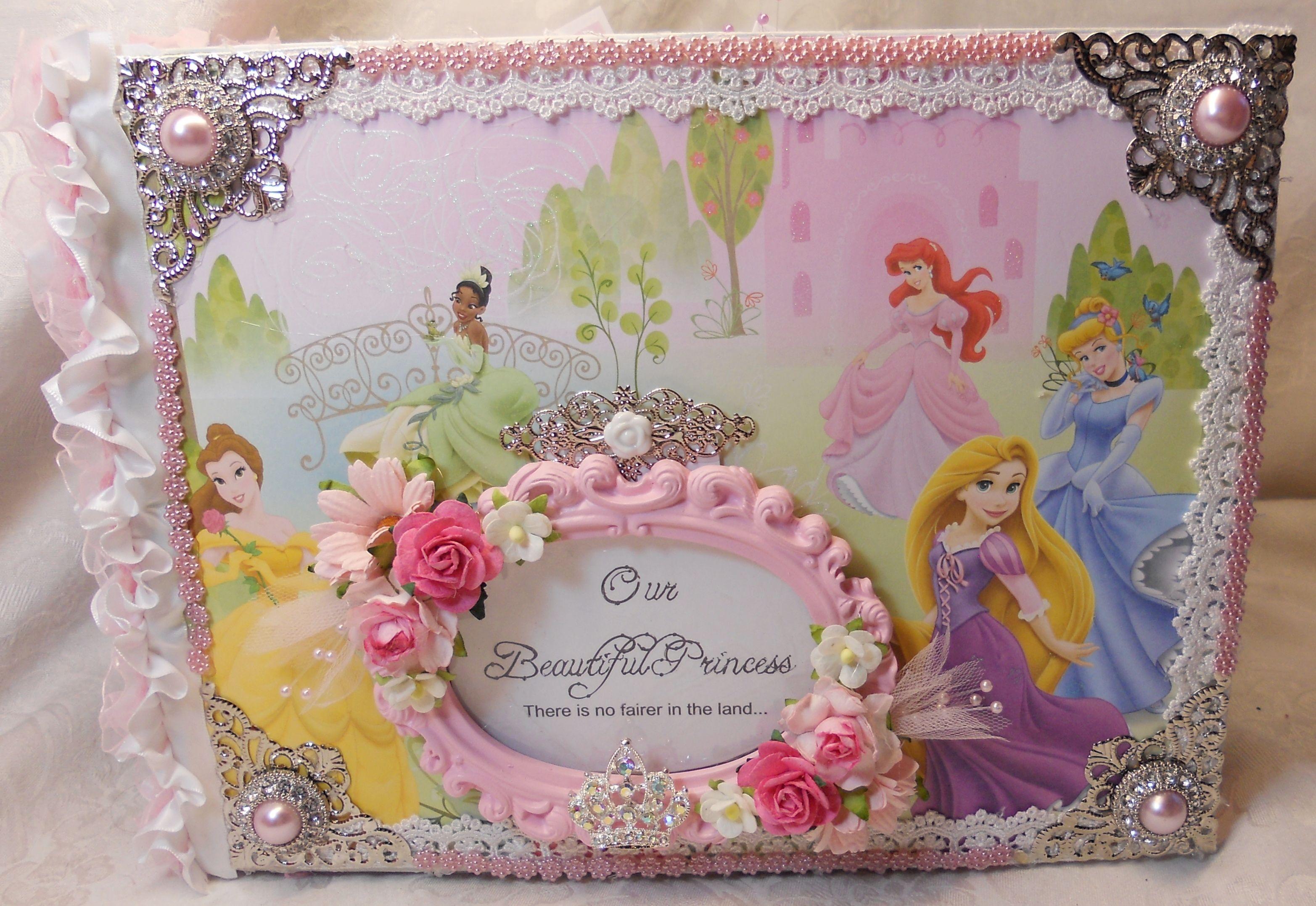 My Disney Princess Not So Mini Mini Album Mini Albums Mini Scrapbook Albums Princess