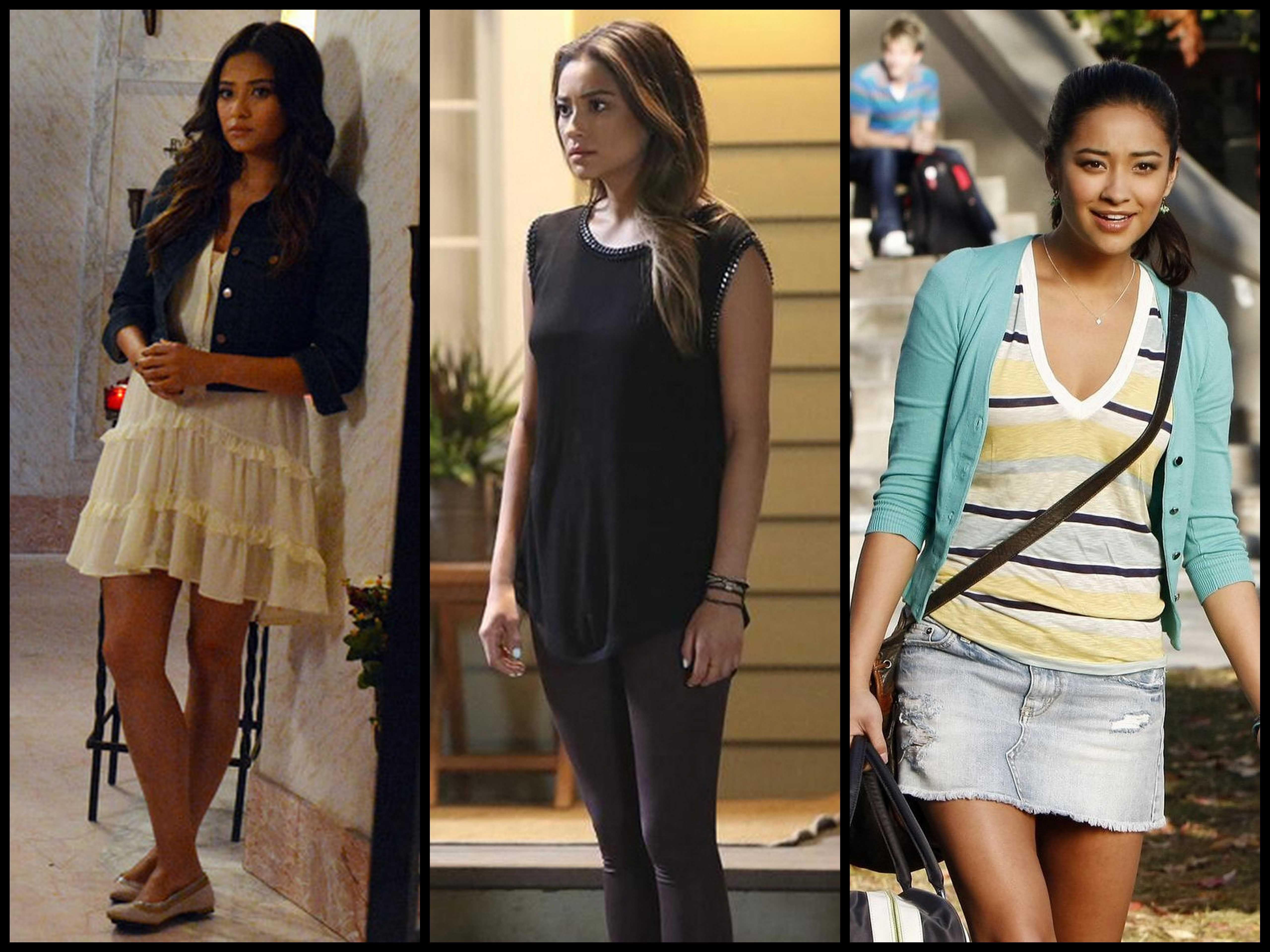 pretty little liars and more 3 different outfits which one is the best i like the first one - Pretty Little Liars First Halloween Episode