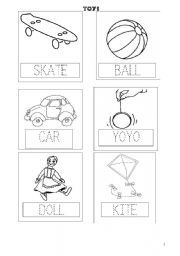 toys worksheets for first grade - Buscar con Google ...