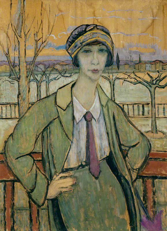 Juliette Roche (1884-1980), French painter associated with the Cubist and Dada movements #womensart
