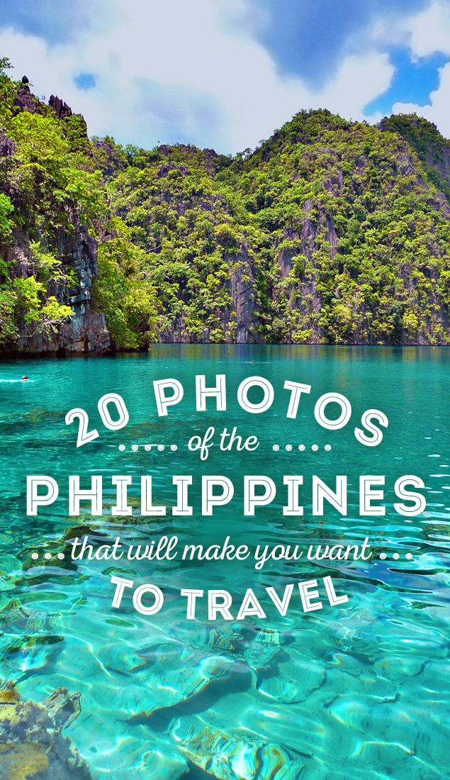 Travel the Philippines 20 Photos that will make you pack