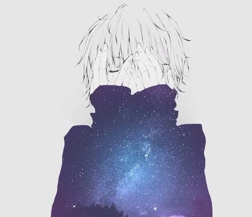 We Heart It 経由の画像 #anime #art #beautiful #beauty #cosmic #gorgeous #light #nightsky #sky #stars