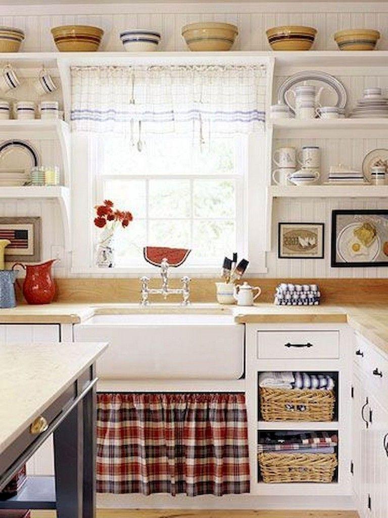 70 beautiful farmhouse kitchen curtains decor ideas kitchen farmhouse kitchen curtains on farmhouse kitchen valance ideas id=28635