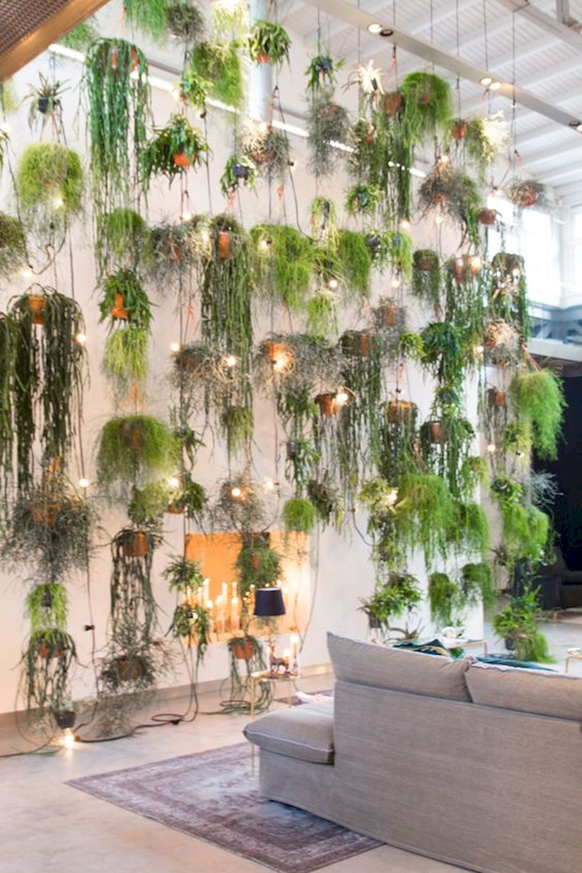 Adorable 30 Fantastic Vertical Garden Indoor Decor Ideas