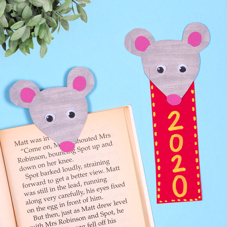 Year of the Rat Bookmark in 2020 (With images) | Chinese ...