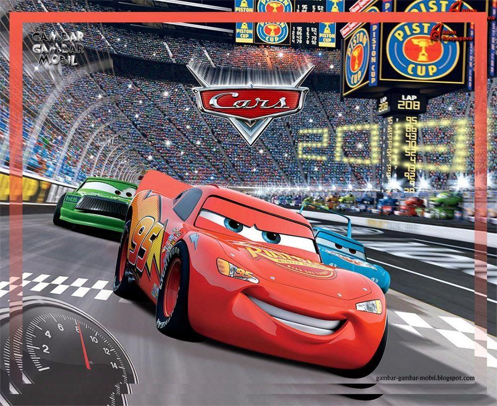 Gambar Animasi Mobil Cars