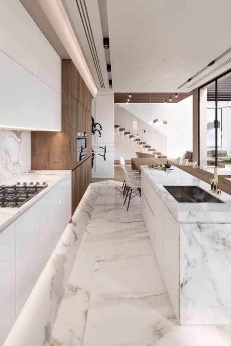 Kitchen Island Interior Inspirations