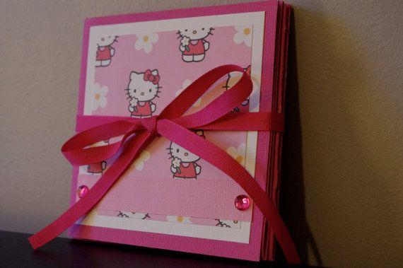 Folding Hello Kitty Scrapbook Album Squash Book by mandaheart, $18.00