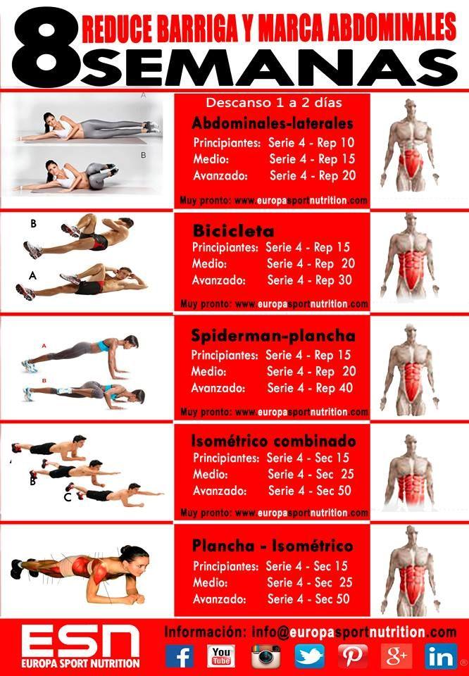 Rutinas de ejercicios para bajar de peso hombres mas