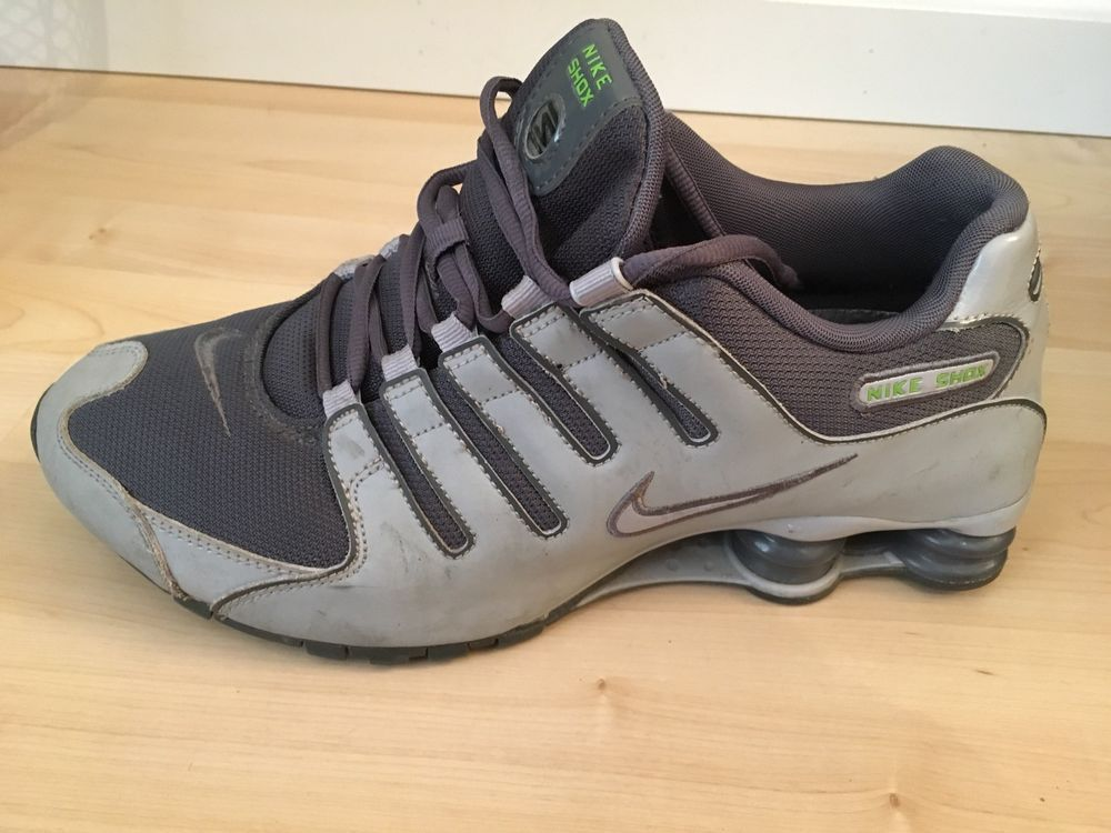 Mens Nike Shox NZ Shoes Sneakers Premium Grey   Lime 378341-800  fashion   clothing  shoes  accessories  mensshoes  athleticshoes (ebay link) 1e7dae8ea